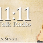 Logo for 11:11 Talk Radio with Simran Singh