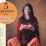 Screenshot of Jalala Bonheim in a magazine