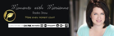 Moments with Marianne radio show logo
